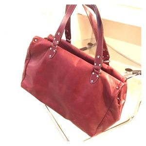Kate Spade Leather Duffel Bag